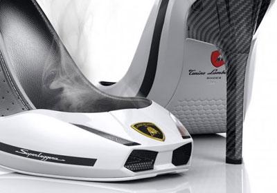 Zapatos de tacón de Lamborghini