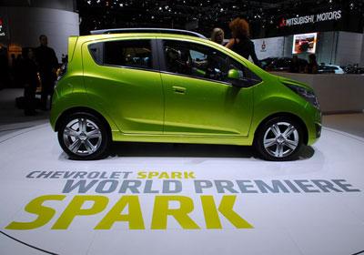 Chevrolet Spark 2010: Simplemente impresionante