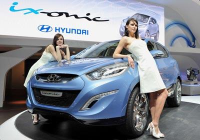 Hyundai ix-onic: adelantando las líneas del futuro Tucson