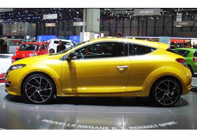 Renault Mégane lll Coupé RS: Potenciado al máximo
