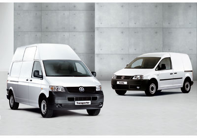 Volkswagen Transporter y Caddy: De Alemania a Chile
