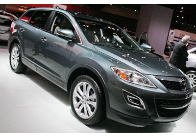 Mazda CX-9 2010: Hizo su debut en Nueva York