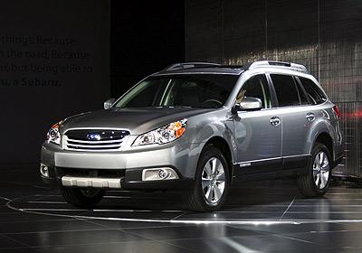 Subaru New Outback 2010: Estreno en Nueva York