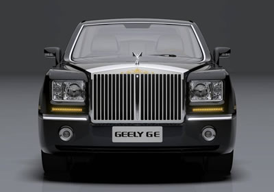 Geely GE Concept: un Rolls Royce pirata