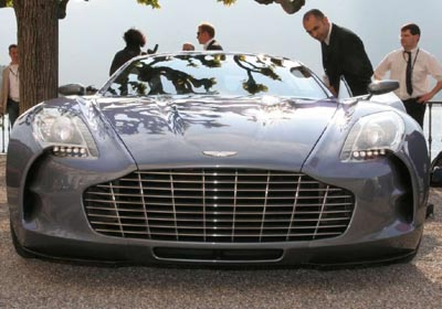 Aston Martin One-77 de serie
