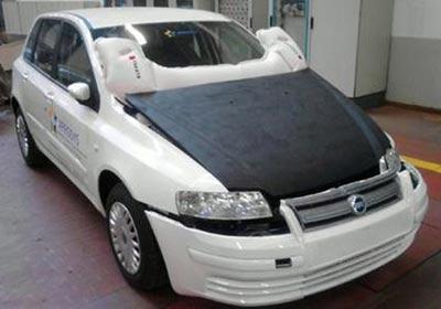 Airbag para capot