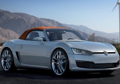 Volkswagen Bluesport Concept: un roadster vanguardista