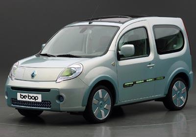 Renault Kangoo Be Bop ZE: cero emisiones