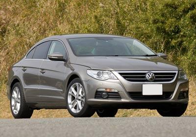 Volkswagen Passat CC: Hizo su estreno en Chile