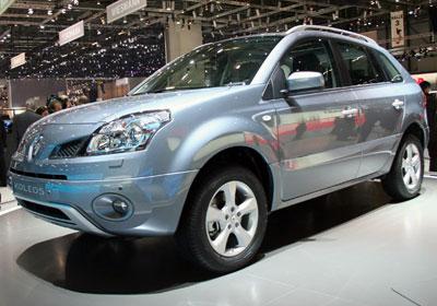 Renault Koleos: 4x4 Comienza venta en Chile