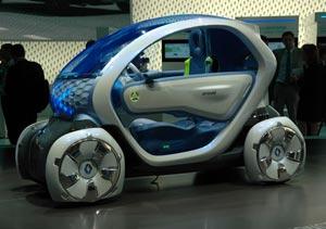 Renault Twizi Z.E.: eléctrico de producción para 2011
