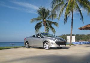 Llega a México el Peugeot 308 CC 2010