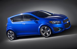 Debutará el Hatchback Chevrolet Aveo RS 2011 en Detroit