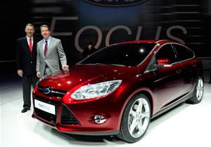Se presenta en Detroit 2010 el Ford Focus 2011