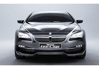 BMW Gran Coupé Concept: El Serie 6 Sedán coupé 2012