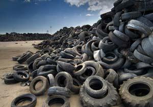 Argentina comienza a reciclar neumáticos