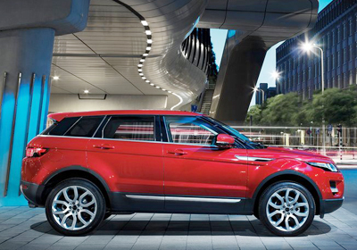 Range Rover Evoque 5 puertas: Primeras imágenes