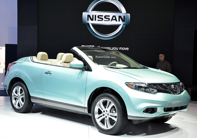 Nissan Murano CrossCabriolet: Nace el Primer SUV Descapotable