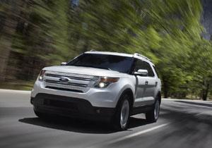 Ford Explorer 2011 con el Sistema MyFord Touch