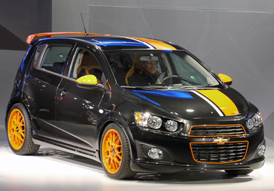Chevrolet Sonic Z-Spec Concept: Aveo 2012 tuneado