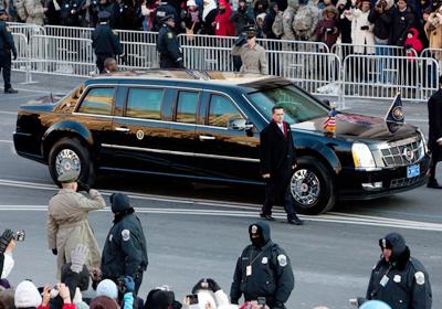 El Auto de Obama es el Cadillac One