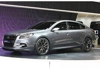 Renault-Samsung SM7 Concept: Fotografías en vivo