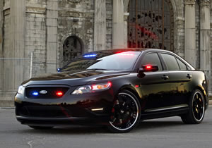 SEMA Show 2010: Ford Police Interceptor Stealth