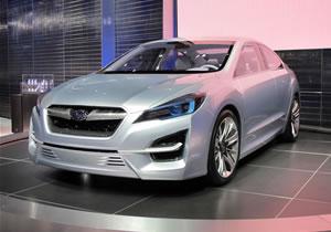 Subaru Impreza Concept en el Salón de los Ángeles