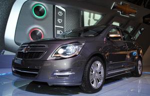 Chevrolet Cobalt Concept, debut mundial en el Salón de Buenos Aires
