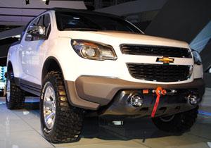Chevrolet Colorado Rally Concept debuta en el Salón de Buenos Aires