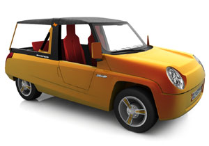Rinspeed BamBoo, un homenaje el Citroën Méhari