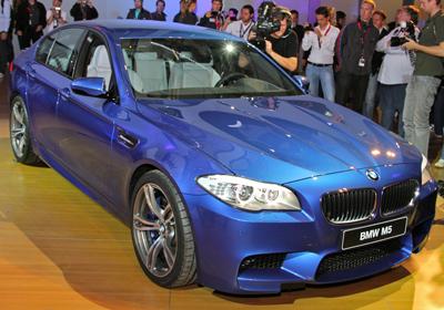 BMW M5 2012: Fotografías exclusivas