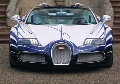 Bugatti Veyron Gran Sport L'Or Blanc : Soberbio