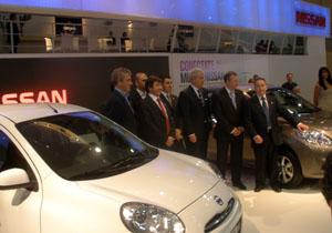Nissan el video en el Salón de Buenos Aires