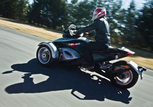 Can-Am Spyder RS 2010 a prueba