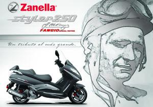 Zanella: nueva Styler 250 Cruiser, edición especial Fangio