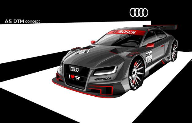 Audi presenta el nuevo A5 DTM 2012