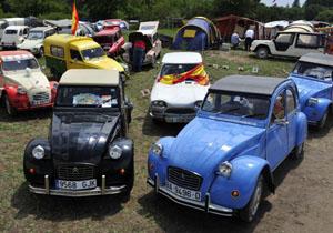 Citroën 2 CV: encuentro mundial