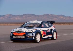 Hyundai Veloster AWD Rally Car debuta en el Salón de Chicago