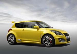 Suzuki Swift S-Concept se presenta en el Salón de Ginebra.