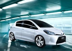 Toyota Yaris HSD Hybrid Concept en el Salón de Ginebra 2011