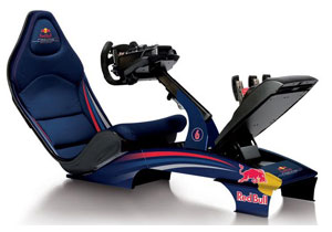 Red Playseat Bull F1, compite desde tu casa