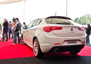 Alfa Romeo Giulietta 2012 en el Concurso de la Elegancia