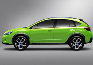 Subaru XV Concept debuta en el Salón de Shanghai 2011