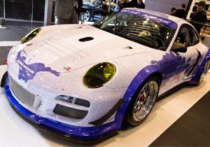 Porsche 911 GT3 R Hybrid, el auto del millón de fans debuta en Nueva York
