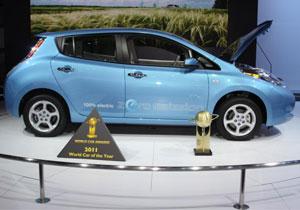 Nissan Leaf es el World Car of the Year 2011