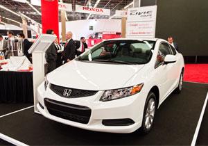 Honda Civic Coupé 2012 debuta en el Salón de Guadalajara 2011