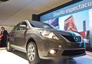 Nissan Versa 2012 debuta en el Salón de Guadalajara 2011