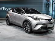 Toyota C-HR 2017: Rival directo de los Nissan Juke y Honda HR-V