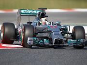 F1 GP de España, Hamilton y Mercedes siguen ganando